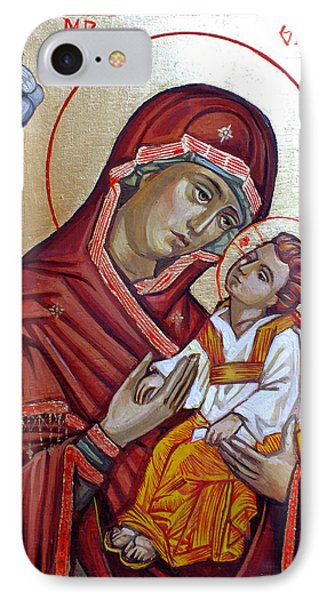 Mother Of God Phone Case by Filip Mihail