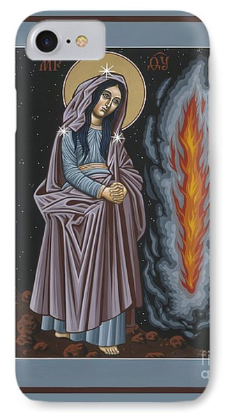 IPhone Case featuring the painting Mother Of God Of Kosovo 087 by William Hart McNichols