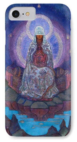 Mother Of The World IPhone Case by Nicholas Roerich