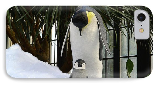 Mother Penguin And Baby IPhone Case