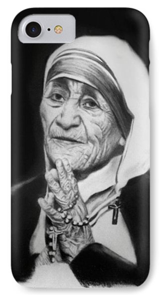 Mother Teresa IPhone Case by Anthony Falbo