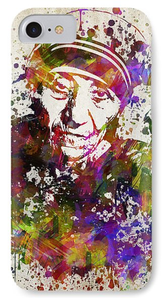 Mother Teresa In Color IPhone Case