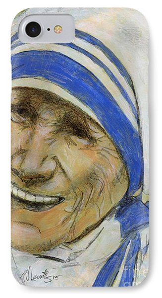Mother Teresa IPhone Case by P J Lewis
