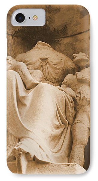 IPhone Case featuring the photograph Mother With Children by Nadalyn Larsen