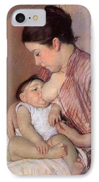 Motherhood Phone Case by Marry Cassatt