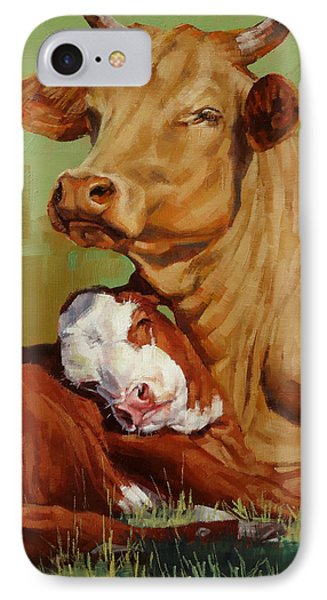 Motherly Love IPhone Case by Margaret Stockdale