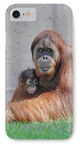 Mothers Care IPhone Case by Kathy Gibbons