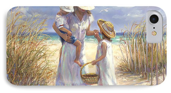Mothers Day Beach IPhone Case by Laurie Hein