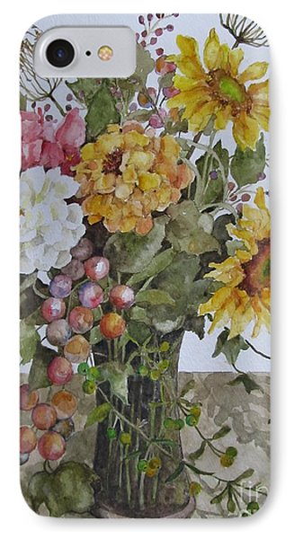 Mother's Day Bouquet Phone Case by Karen Olson