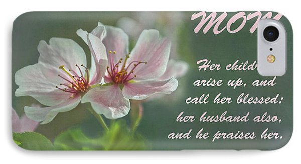 Mothers Day Card For Mom Phone Case by Sandi OReilly