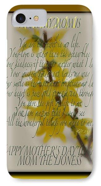 Mothers Day Plaques Phone Case by Debra     Vatalaro