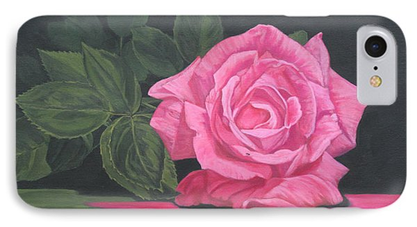 Mothers Day Rose IPhone Case by Wendy Shoults