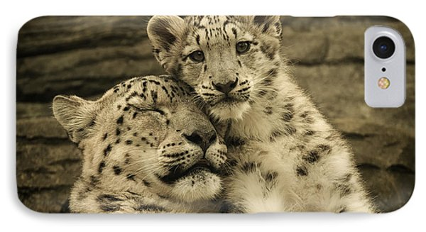 Mother's Love IPhone Case by Chris Boulton