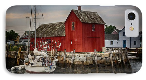 Motif 1 - Rockport Harbor IPhone Case by Stephen Stookey