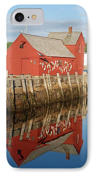 IPhone Case featuring the photograph Motif 1 With Reflection by Richard Bryce and Family