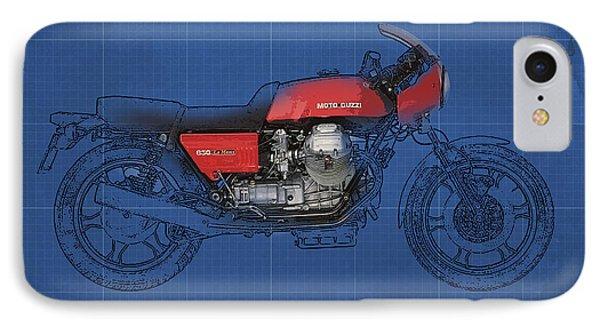 Moto Guzzi 850 Le Mans 1976 Phone Case by Pablo Franchi