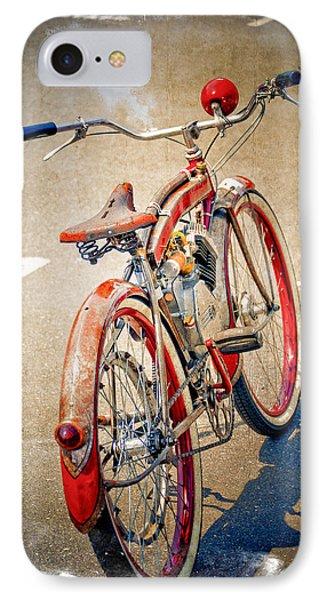 Motor Bike IPhone Case by Craig Perry-Ollila