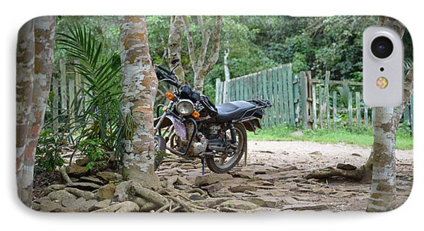 IPhone Case featuring the photograph Motorbike by Ronda Broatch