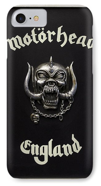 Motorhead England Phone Case by The Artist Project