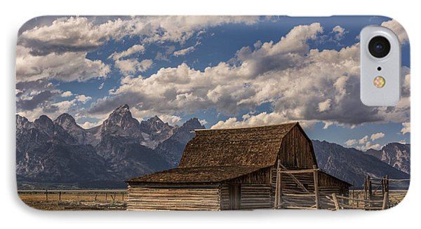 Moulton Barn - Grand Teton National Park Wyoming IPhone Case