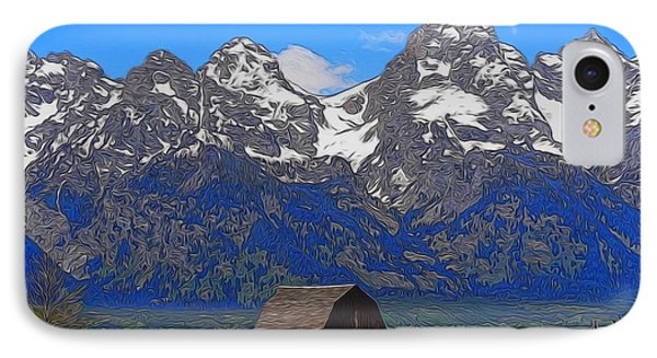 Moulton Barn In Grand Teton National Park IPhone Case by Dan Sproul