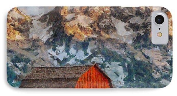 Moulton Barn IPhone Case by Kai Saarto