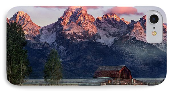 IPhone Case featuring the photograph Moulton Barn by Leland D Howard