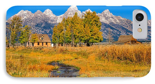 Moulton Homestead IPhone Case by Greg Norrell