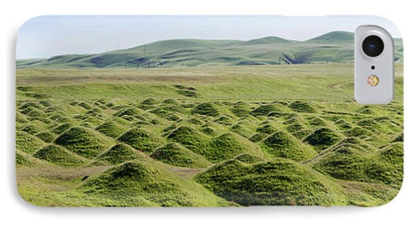 Mound Son A Landscape, Corral Hollow IPhone Case by Panoramic Images
