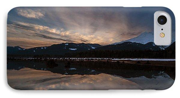 Mount Baker Sunset Phone Case by Mike Reid