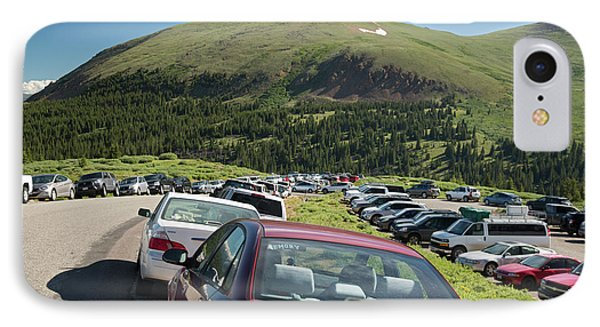 Mount Bierstadt Hiking Trail Car Park IPhone Case by Jim West