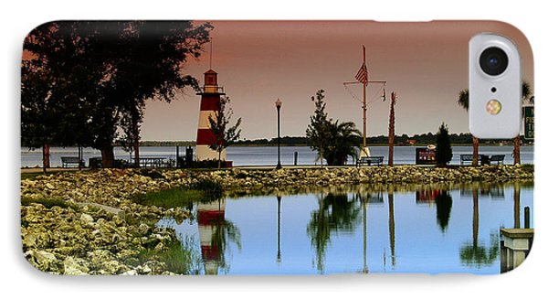Mount Dora Lighthouse IPhone Case by Randy Sylvia