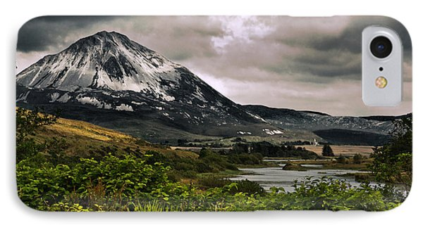 IPhone Case featuring the photograph Mount Errigal by Jane McIlroy