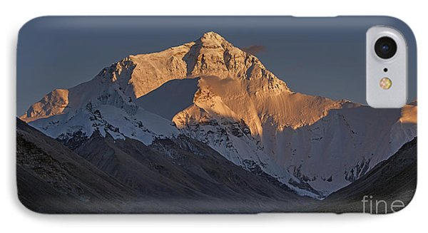 Mount Everest At Dusk IPhone 7 Case by Hitendra SINKAR