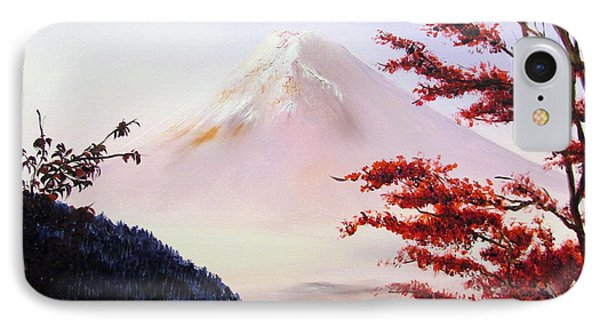 Mount Fuji IPhone Case by Alexandra Louie
