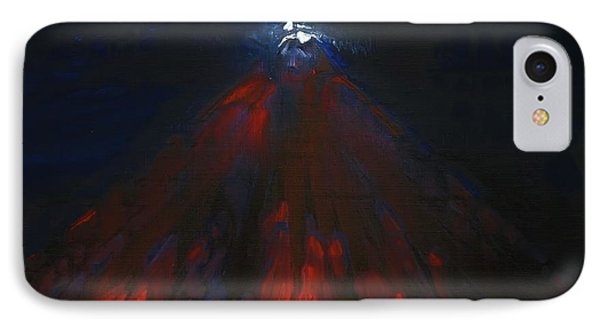Mount Fuji By Night 2003 IPhone Case