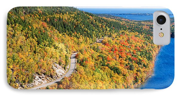 Mount Jordan Pond, Acadia National IPhone Case by Panoramic Images
