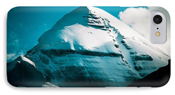 Mount Kailash Home Of The Lord Shiva Phone Case by Raimond Klavins