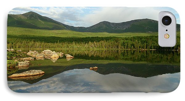 IPhone Case featuring the photograph Mount Katahdin by Jeannette Hunt