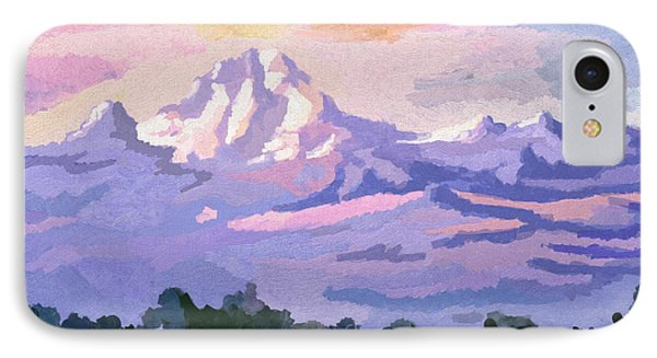 Mount Kenya At Dawn IPhone Case
