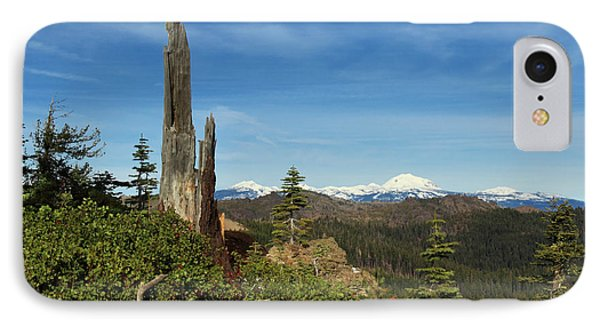 Mount Lassen From A Distance IPhone Case by James Eddy