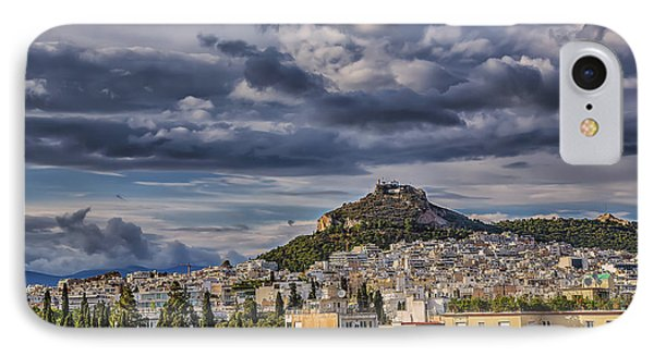 IPhone Case featuring the photograph Mount Lycabettus In Late Afternoon by Micah Goff