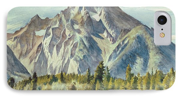 Mount Moran Phone Case by Edward Hopper
