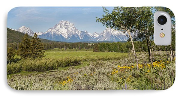 Mount Moran View Phone Case by Brian Harig