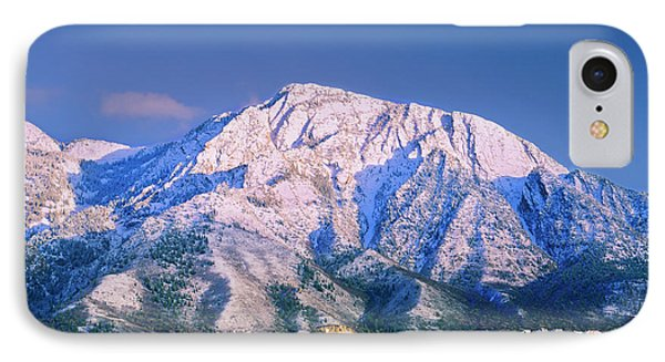 Mount Olympus Mountain, Mount Olympus IPhone Case by Howie Garber