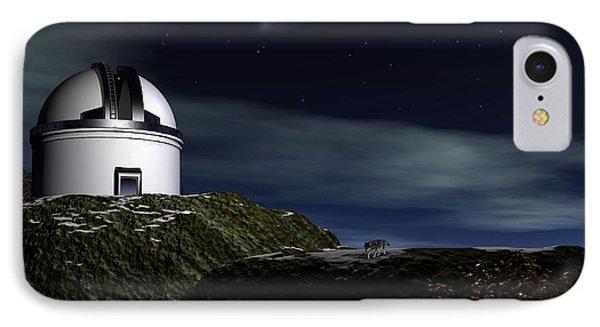 IPhone Case featuring the digital art Mount Palomar by John Pangia