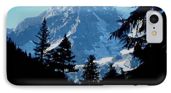 Mount Rainier 14 IPhone Case by Kathy Long