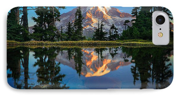Mount Rainier From Tatoosh Range Phone Case by Inge Johnsson