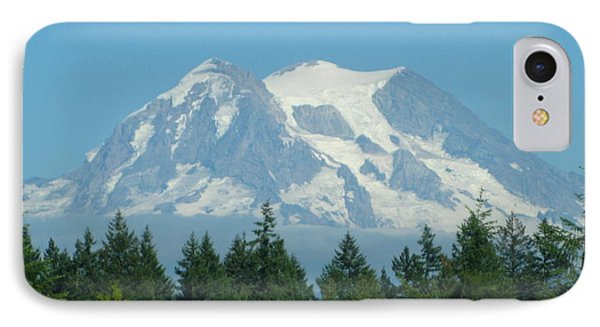 Mount Rainier IPhone Case by Kathy Long