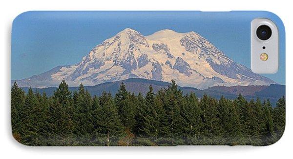IPhone Case featuring the photograph Mount Rainier Washington by Tom Janca